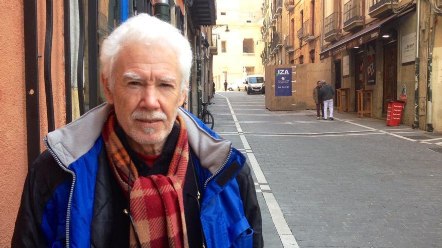 El integrante de Papeles y Derechos Denontzat Javier Urroz.