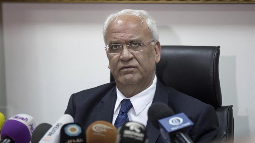 Erekat pide sanciones para Israel tras aprobar nuevas viviendas en colonias