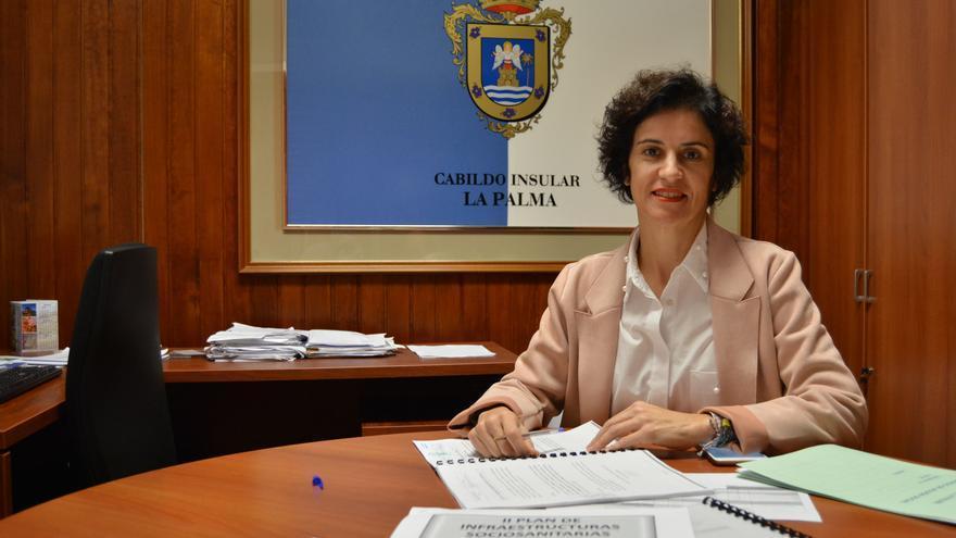 Jovita Monterrey es consejera de Asuntos Sociales del Cabildo de La Palma.