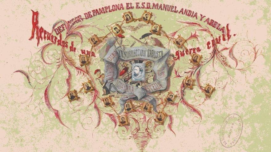 Últimos días para ver el álbum del Bloqueo de Pamplona en el Museo del Carlismo