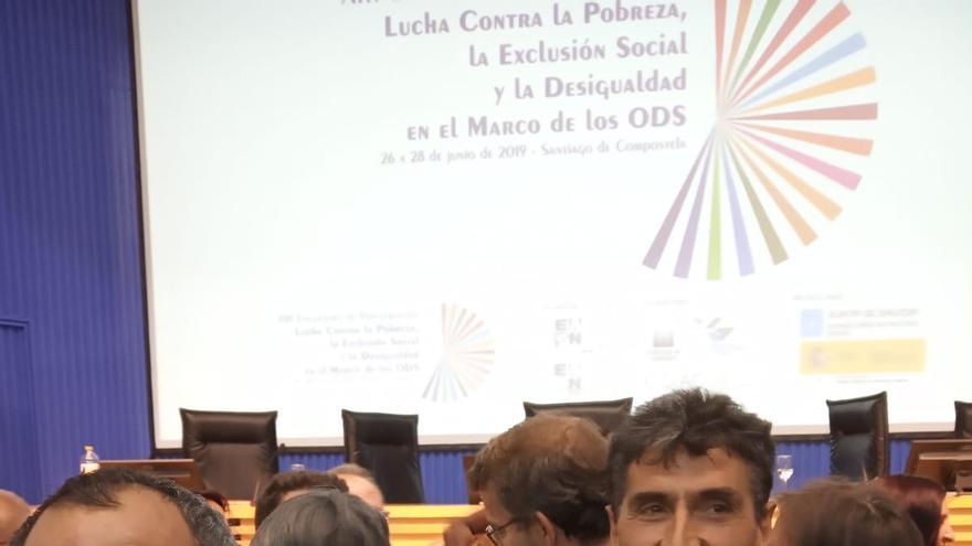 Dani y Antonio en el XIII Encuentro de Participación de EAPN-España
