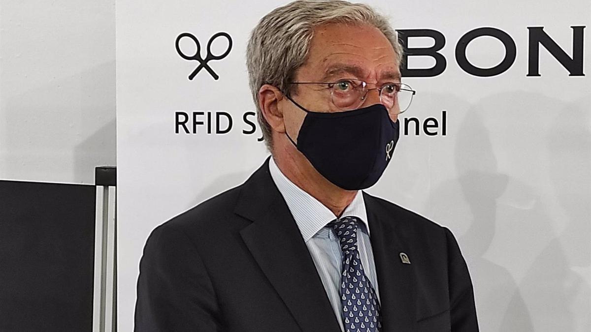 Rogelio Velasco en las instalaciones de Silbon