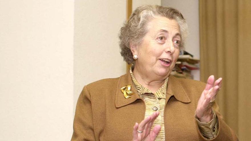 María Dolores Cabezudo, medalla al mérito en la Investigación y en la Educación Universitaria