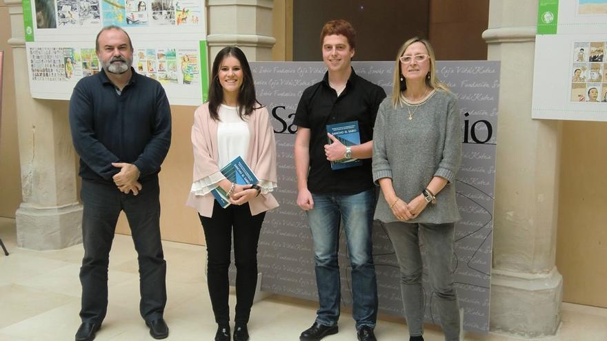 Escauriaza y Lanz, premiados por Fundación Sancho El Sabio por sus trabajos sobre historia del terrorismo y vascones