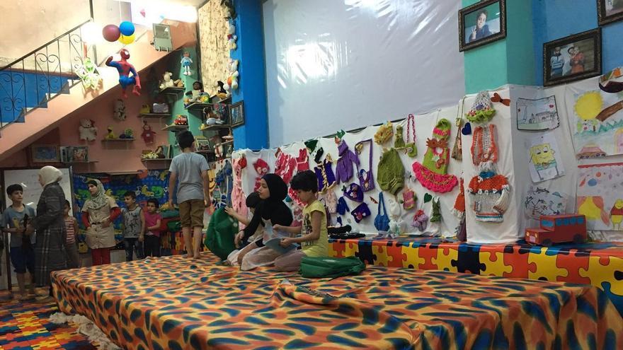 Orfanato de Moumayazoun en Alepo
