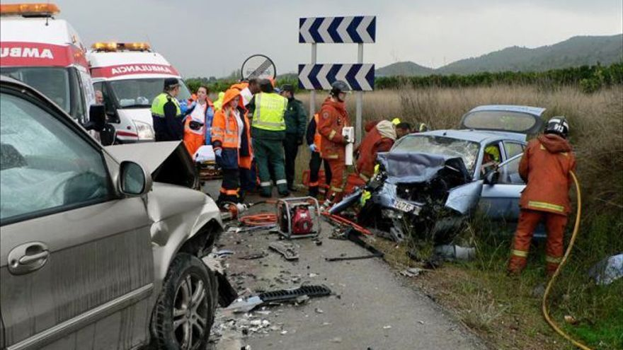Accidente en Riba Roja del Túria