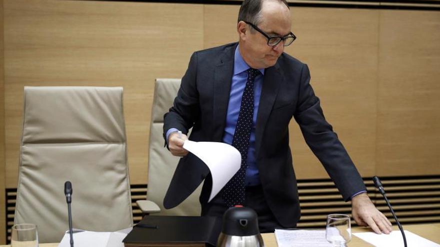 Restoy (CNMV) dice que los peritos judiciales erraron deterioros de Bankia