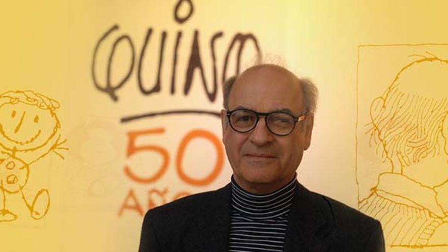 "Joaquín Salvador Lavado ""Quino"" / Foto: Web Oficial de Quino"