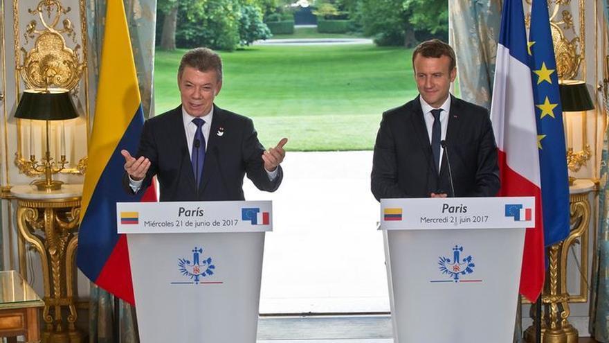 Francia brindará ayuda a Colombia para una reforma agraria