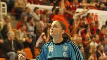 La portera valenciana del Rocasa Gran Canaria ACE, Silvia Navarro.
