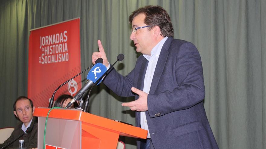 """Fernández Vara pide """"recuperar y defender"""" el """"alma y las razones del socialismo democrático"""""""