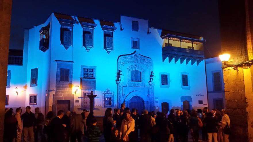 La Casa de Colón en la Noche Europea de los Museos