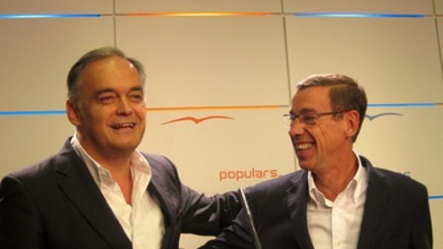 Esteban González Pons Y Antonio Clemente