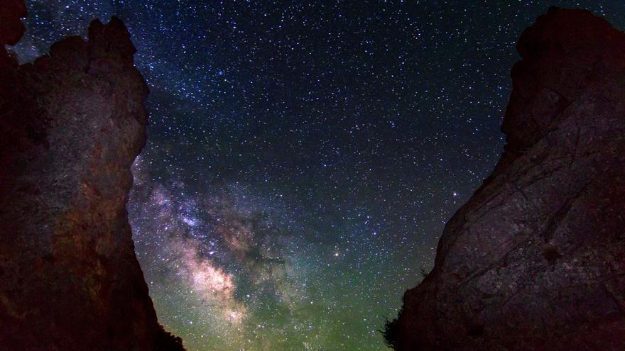 Imagen del cielo de Monfragüe captada en el Salto del Gitano / Dark Sky Advisors