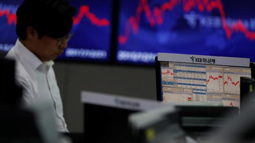La Bolsa de Seúl baja un 0,66 por ciento en la apertura