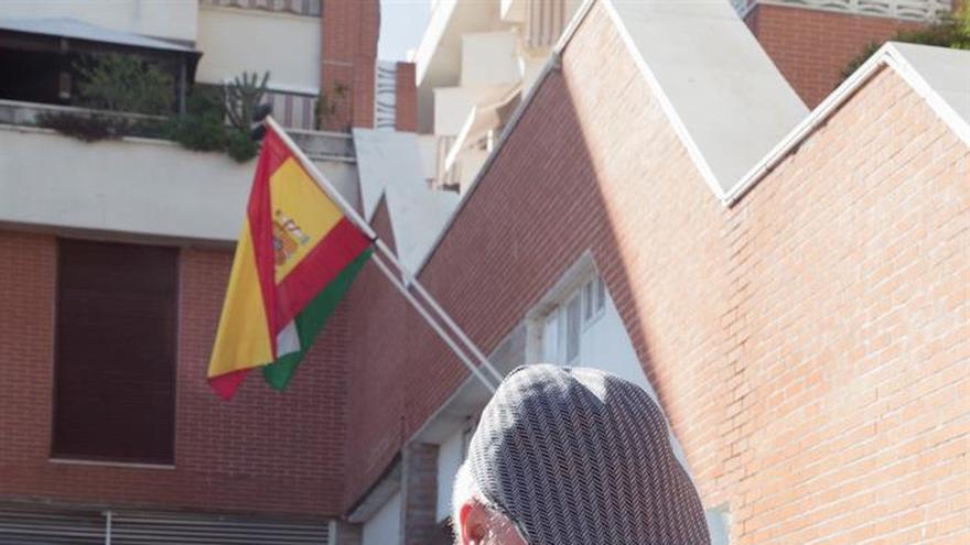 El comisario José Manuel Villarejo a la salida de los juzgados de Estepona (Málaga)