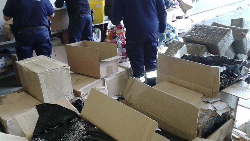 Decomisadas en Francia 1,7 toneladas de cannabis en un camión llegado de España