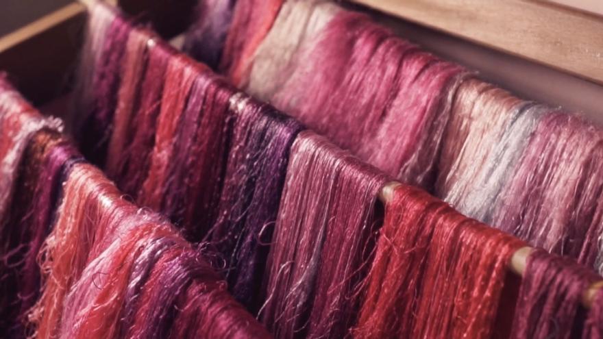 Captura del vídeo sobre la seda.