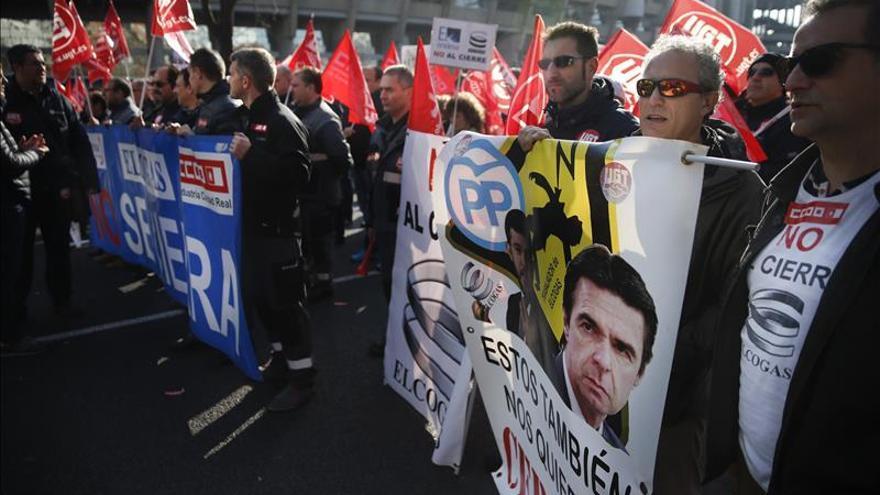Los sindicatos de Elcogas entregan el plan de viabilidad a Industria