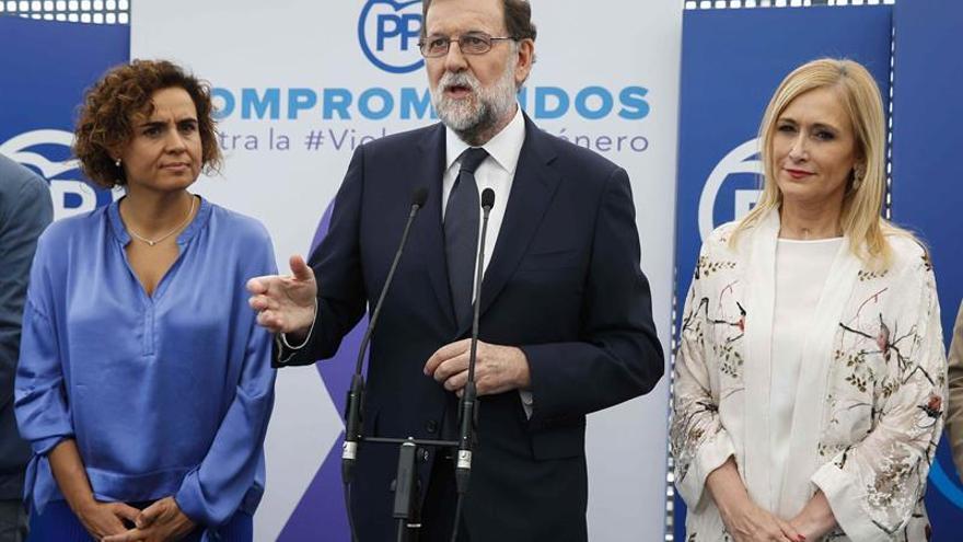 Rajoy pone en valor el mensaje unitario para acabar con la violencia machista