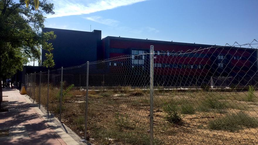 La parcela que el Ayuntamiento de Torrejón va a ceder a un colegio concertado.