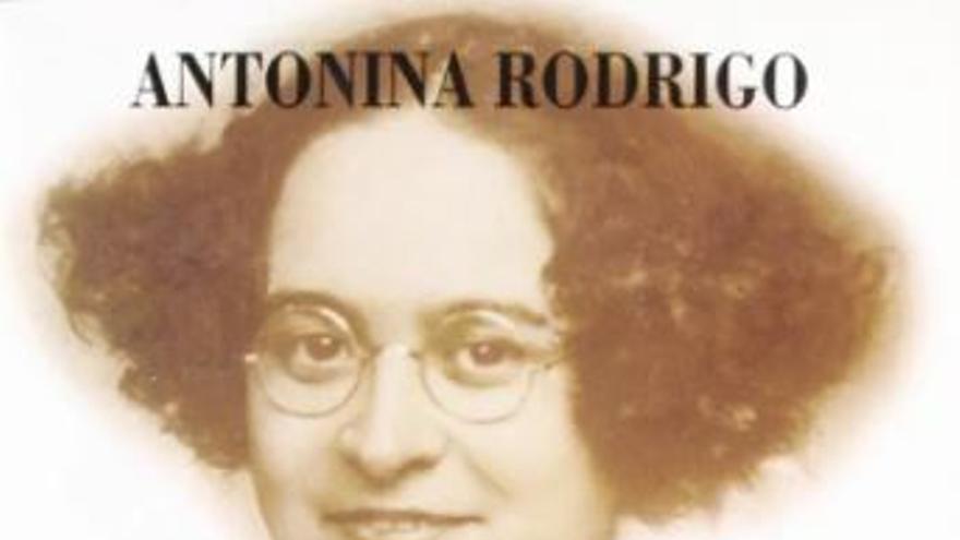 Portada del libro de Antonia Rodrigo
