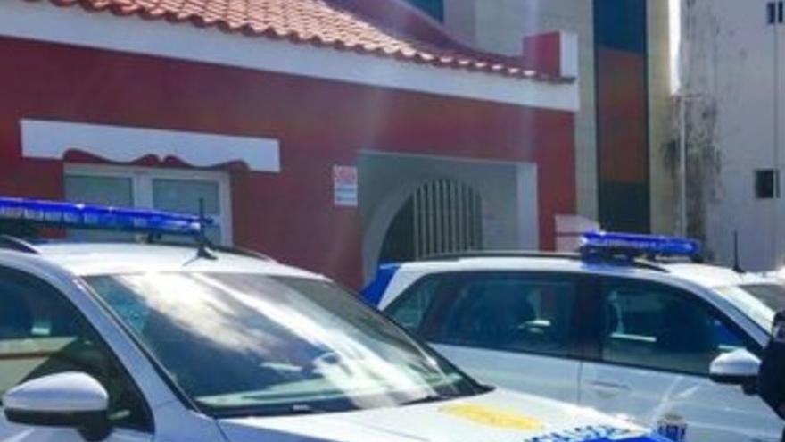 Vehículos de la Policía Local de Los Llanos de Aridane.