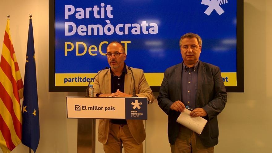 El PDeCAT llevará a la Fiscalía las conclusiones de la comisión sobre Fernández Díaz