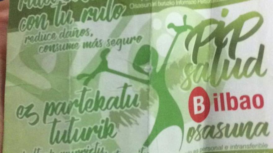 Folleto de la campaña del Ayuntamiento de Bilbao