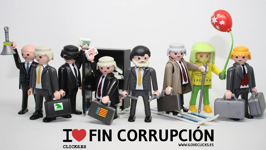 I love fin corrupción