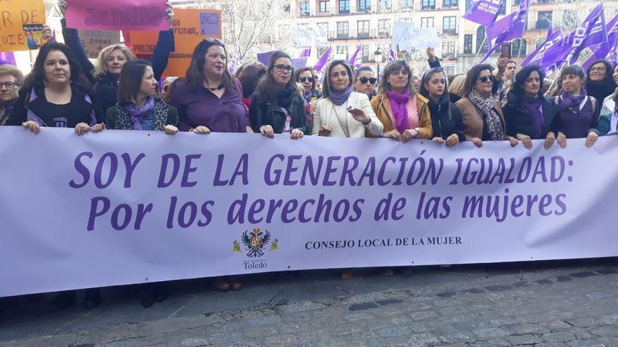 Así se han vivido las manifestaciones del 8M en Toledo, Albacete y Guadalajara