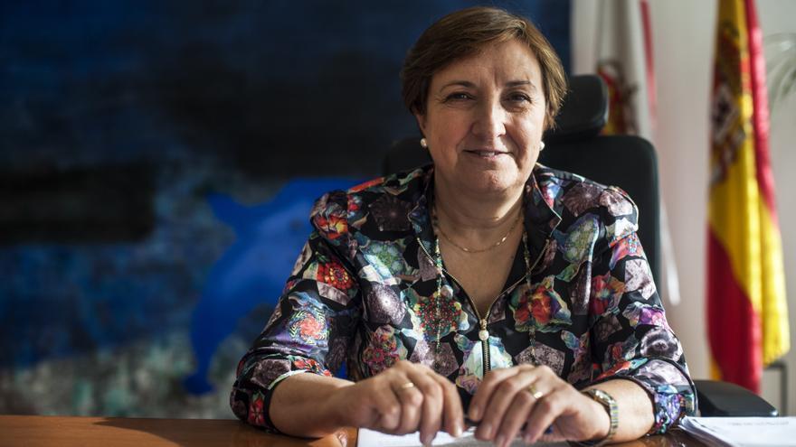María Luisa Real, consejera de Sanidad del Gobierno de Cantabria.   JOAQUÍN GÓMEZ SASTRE