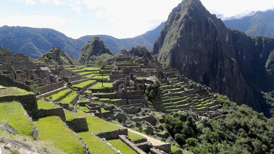 En la imagen, la ciudadela de Machu Picchu, en la región surandina del Cusco (Perú).