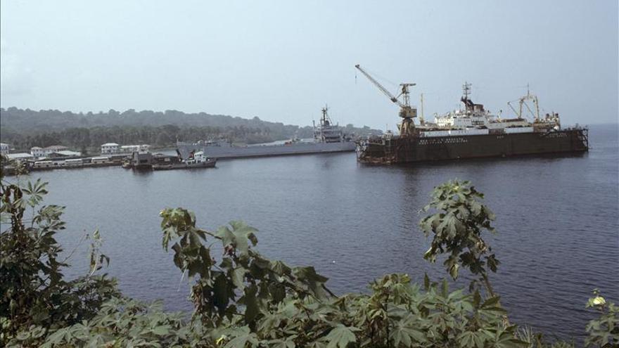 Desaparece un carguero en Guinea Ecuatorial