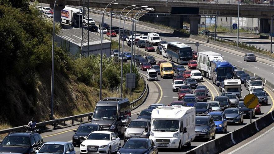 Ocho muertos en siete accidentes en carretera durante el fin de semana