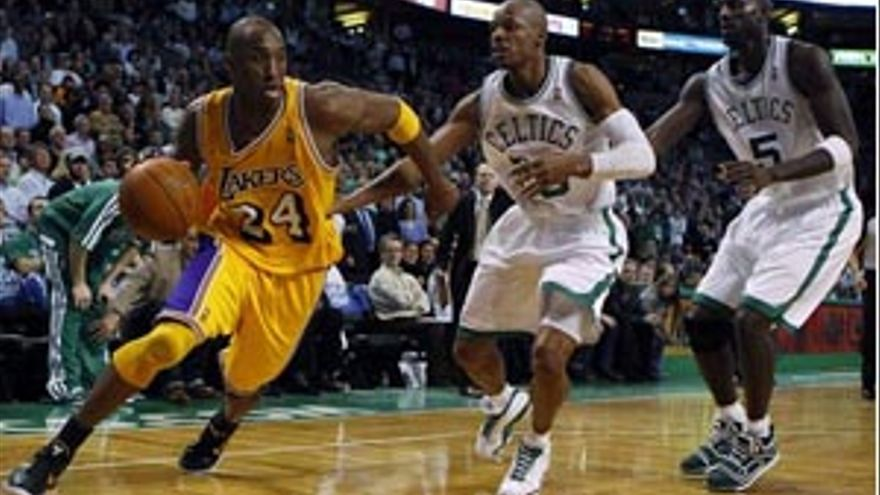 Los Lakers se vengan de Boston