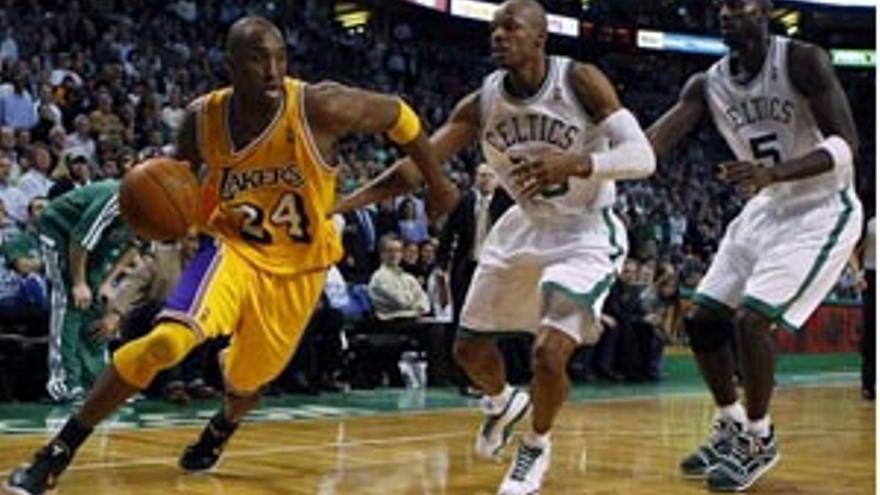 Los Lakers se vengan de Boston