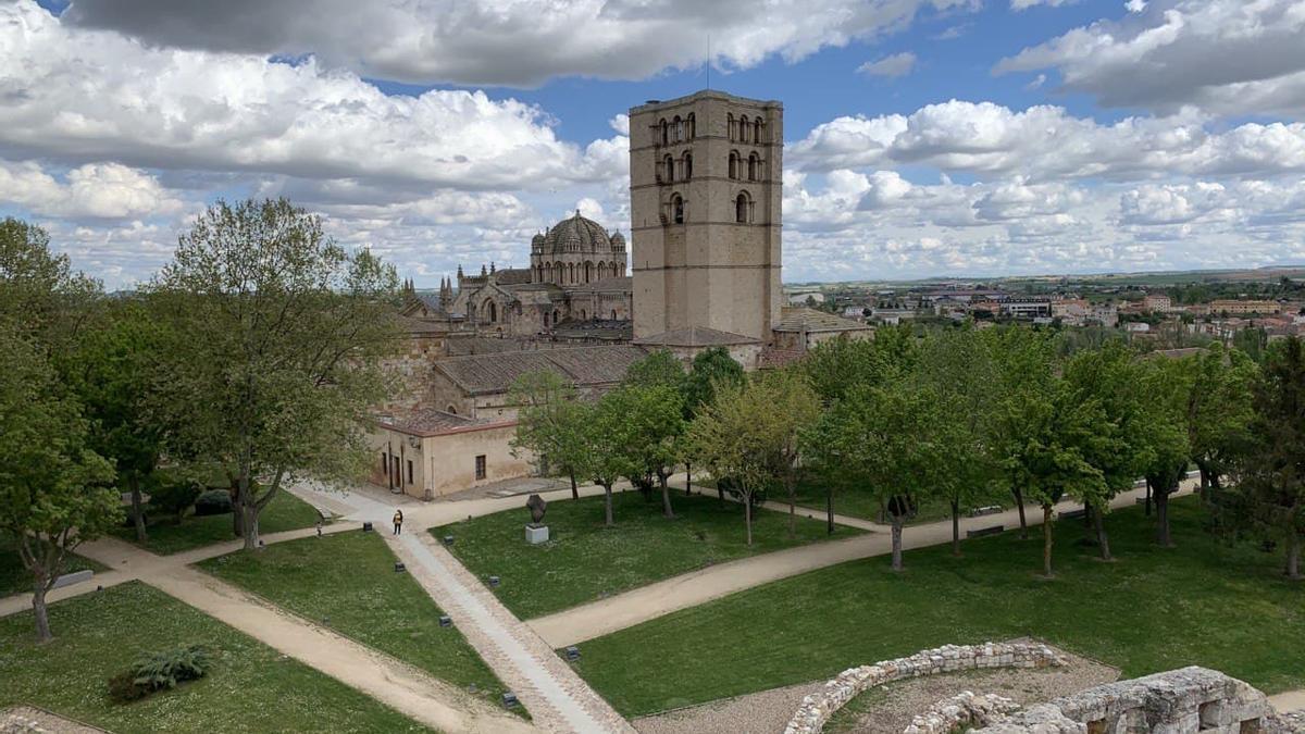 Vistas de Zamora desde el castillo.