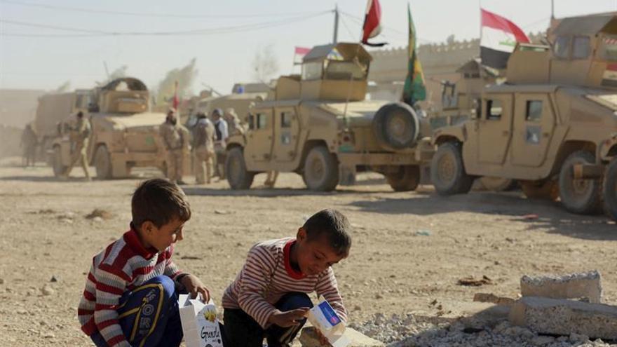 Más de medio millón de personas no tienen agua potable en Mosul, según Unicef