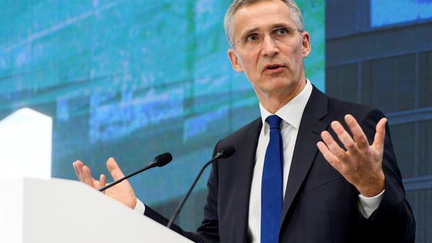 Stoltenberg se reunirá en EEUU con el jefe de Pentágono y la coalición contra el EI