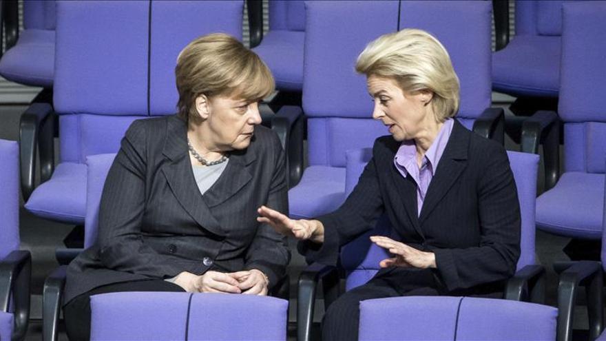 El Bundestag alemán aprueba la misión militar de apoyo a Francia contra EI en Siria