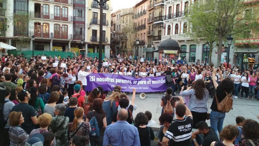 Concentración en Toledo contra la sentencia a 'la manada'