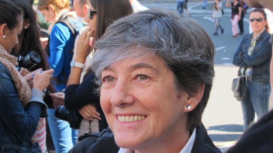 """Mintegi (Bildu) dice las """"amenazas"""" a los opositores de la recogida de basuras 'puerta a puerta' no es """"real"""""""