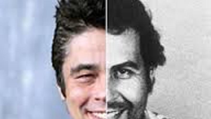 Pablo Escobar y Benicio del Toro