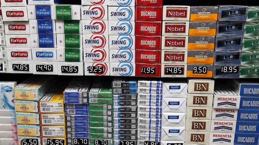 Asociación denuncia a Philip Morris y Altadis por su publicidad en estancos
