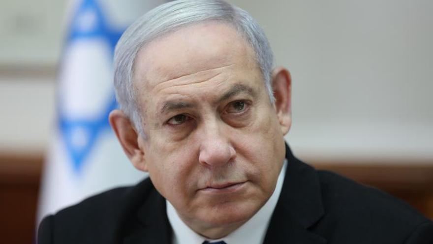 El primer ministro israelí en funciones, Benjamín Netanyahu.