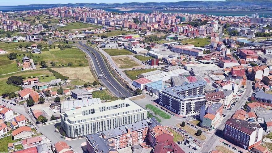 Ocho empresas optan a construir las 120 viviendas asequibles de San Román