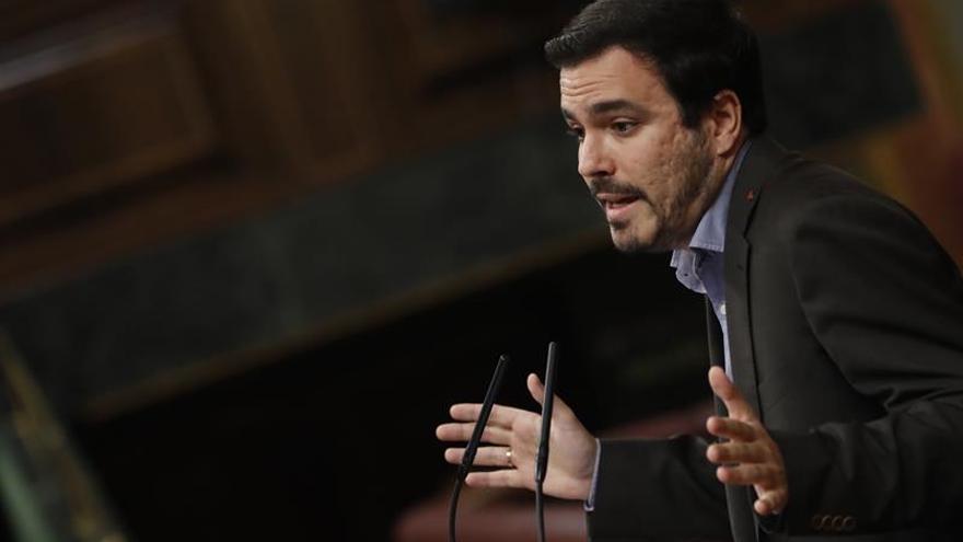 """IU llama a la """"unidad popular"""" en Cataluña y confía en coalición con comunes"""