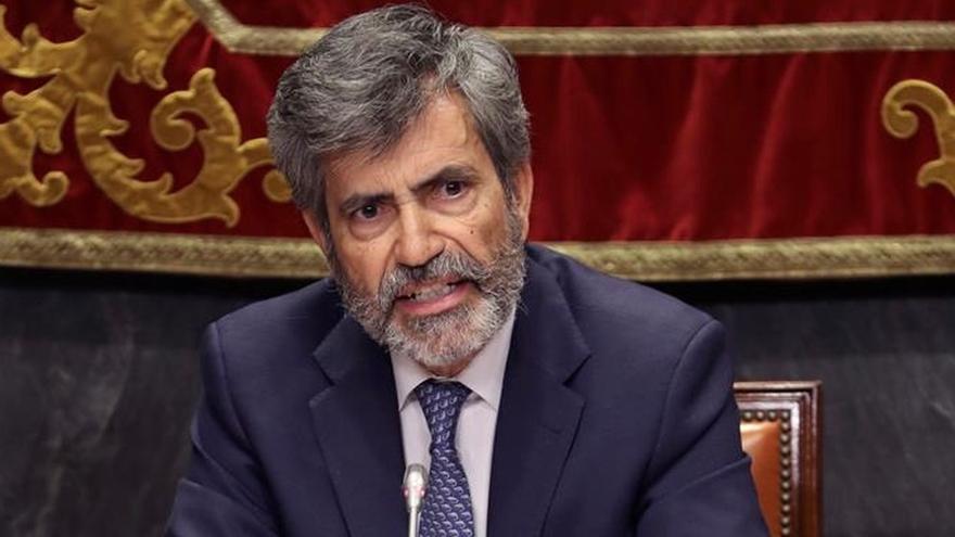 Carlos Lesmes pide actuar contra la comisión sobre violación de derechos en Cataluña