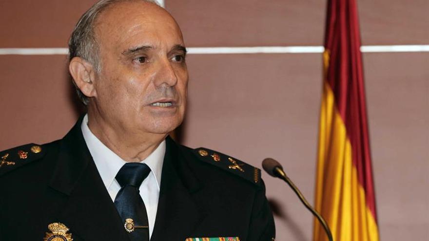 El nuevo jefe superior de Policía de Canarias, José María Moreno. EFE/Elvira Urquijo A.